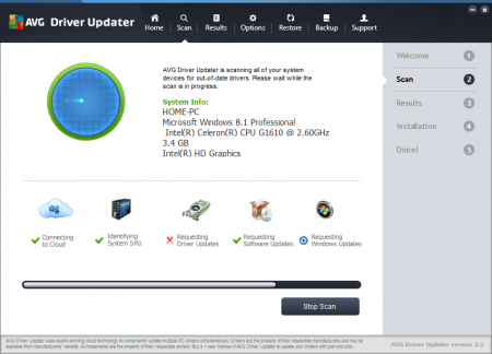 AVG Driver Updater Лицензионный ключ