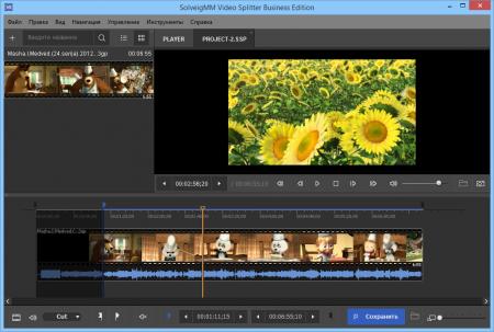 Video Splitter на русском